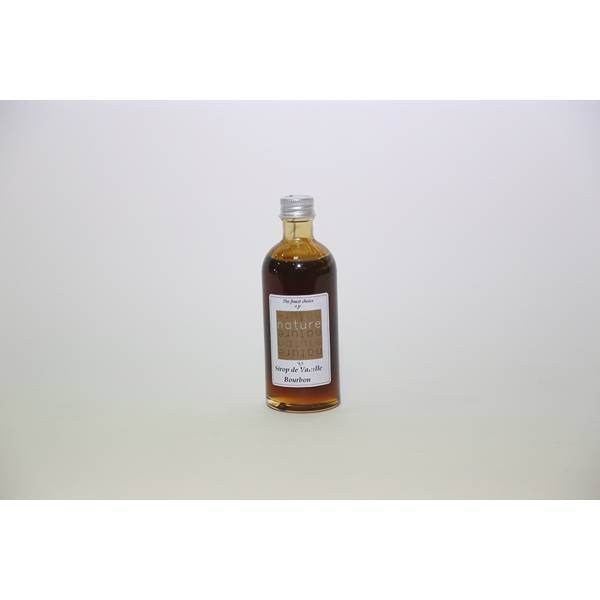 Sirop naturel de Vanille - 100mL