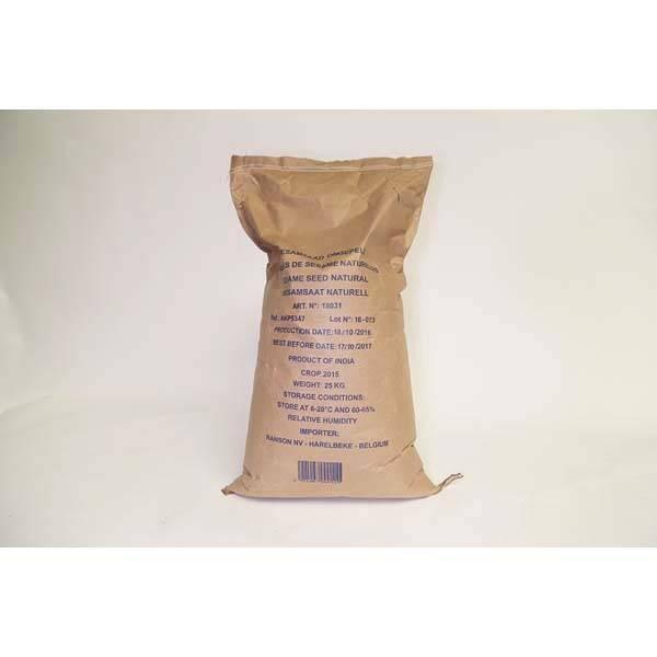 Graines de sésame naturel - 25kg