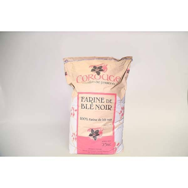 Farine blé noir de meule - 25Kg