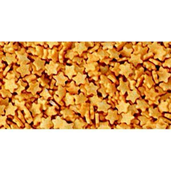 Etoiles dorées en sucre