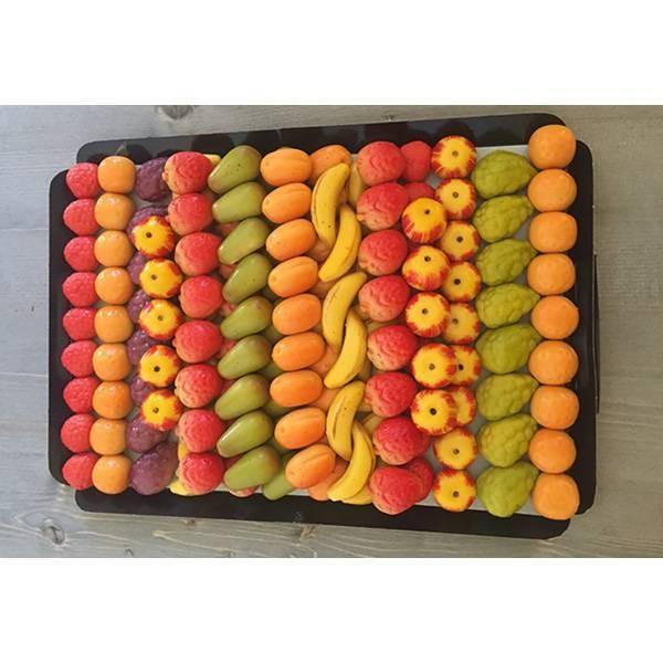 Fruits en pâte d'amande - 2Kg