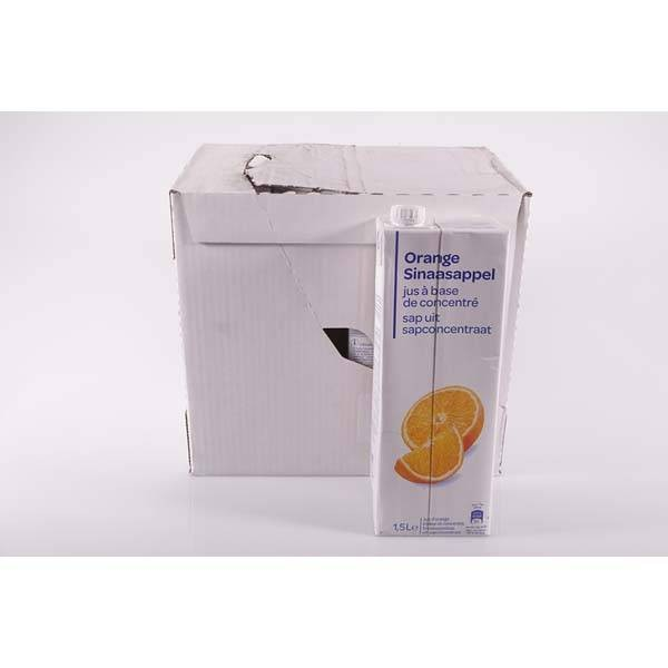 Jus d'orange pack 8 x 1.5 litres