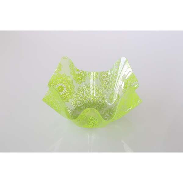 Contenant PVC vert - grand