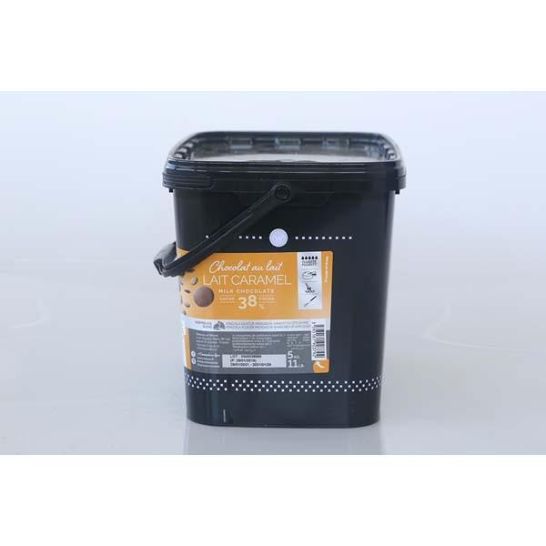 Couverture lait caramel - 5 kg