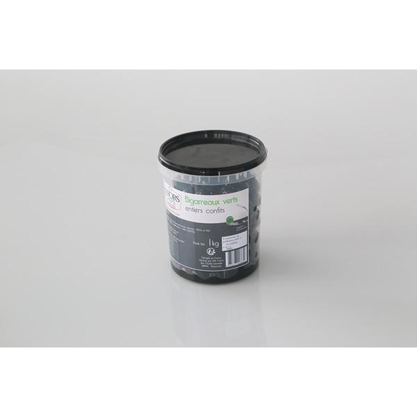 Bigarreaux verts entiers - 1kg