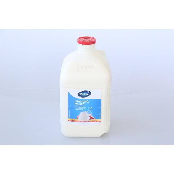 Crème vanillée sucrée - 5L