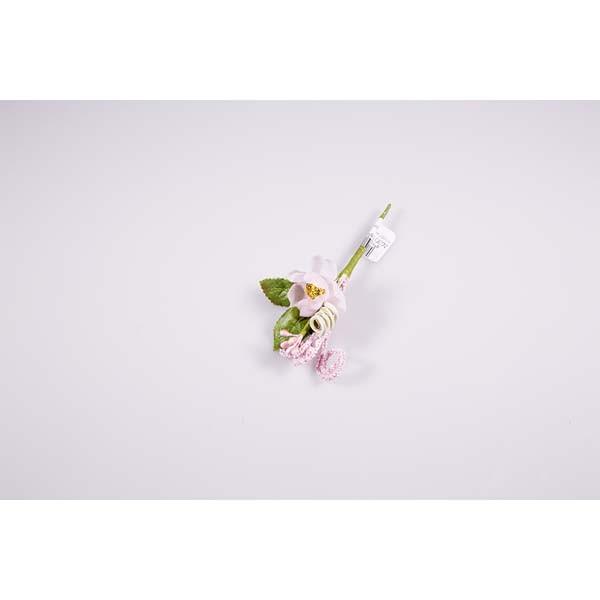 Piquet anémone rose