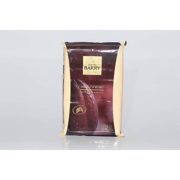 Chocolat Blanc Satin 29% - 2,5kg