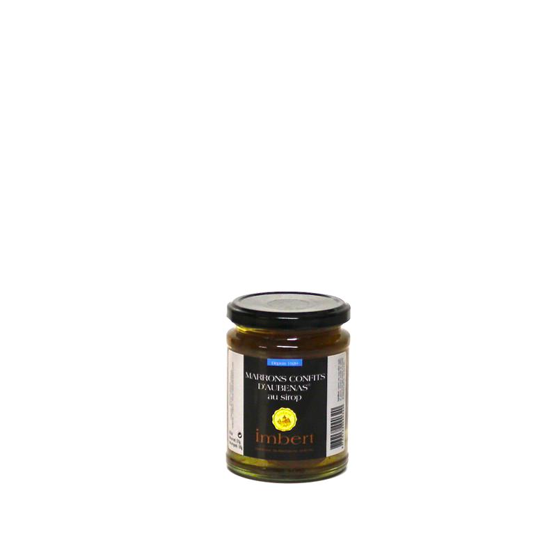 Marrons confits entiers - 370g