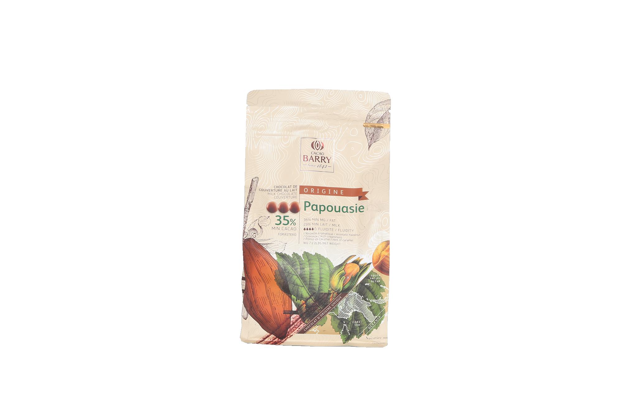 Chocolat lait Papouasie 35%