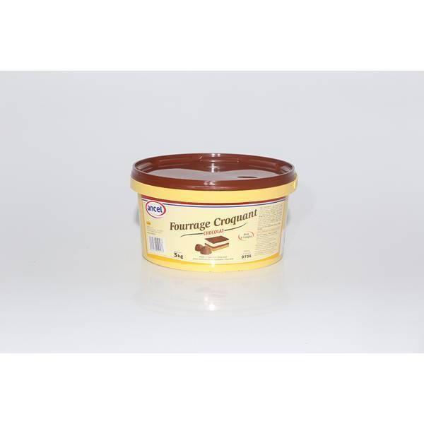Fourrage croquant chocolat - 3kg