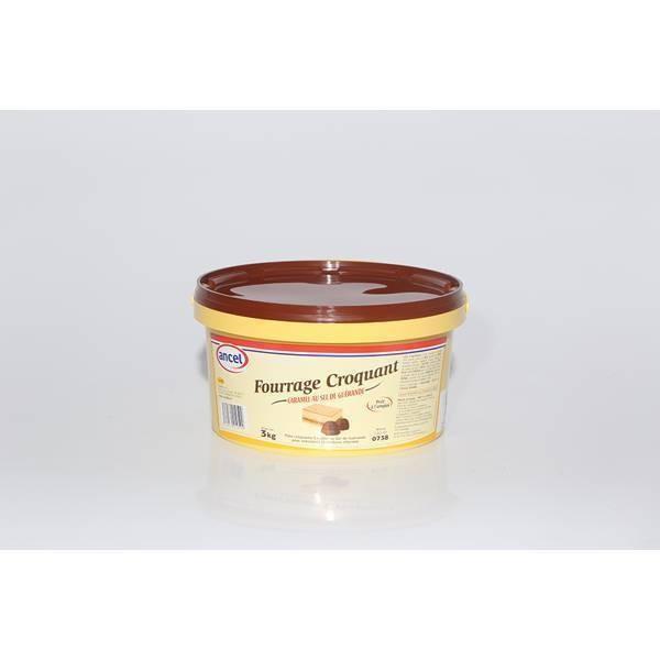 Fourrage croquant caramel - 3kg