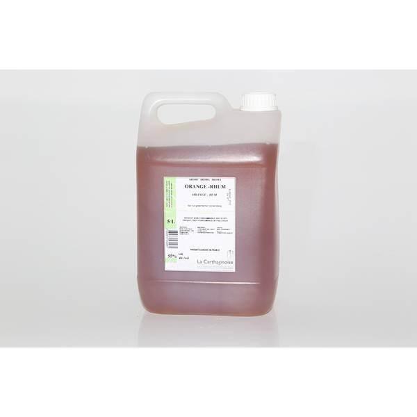 Arôme orange - rhum 55% - 5L