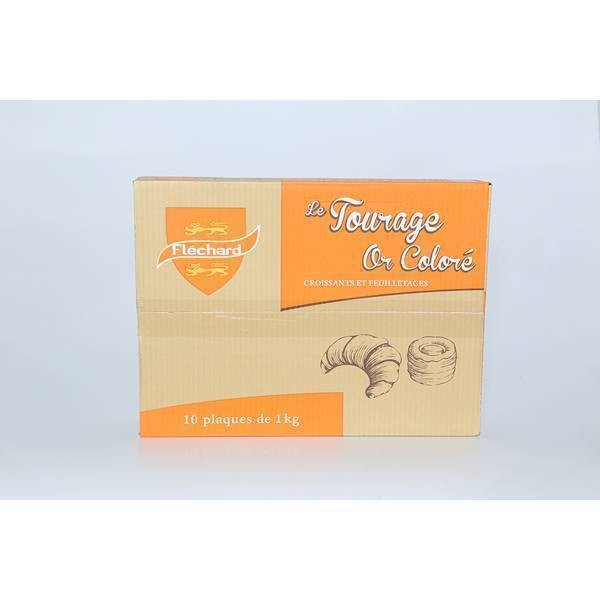 Beurre tourage coloré - 10x1kg