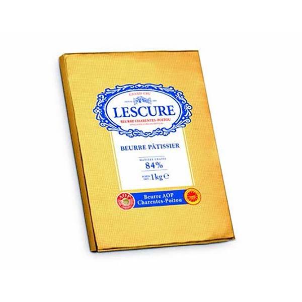 Beurre AOP 84% Lescure - 10x1kg