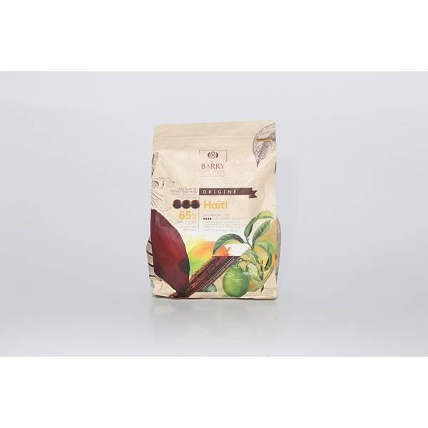 Chocolat noir Haïti 65% - 2,5kg