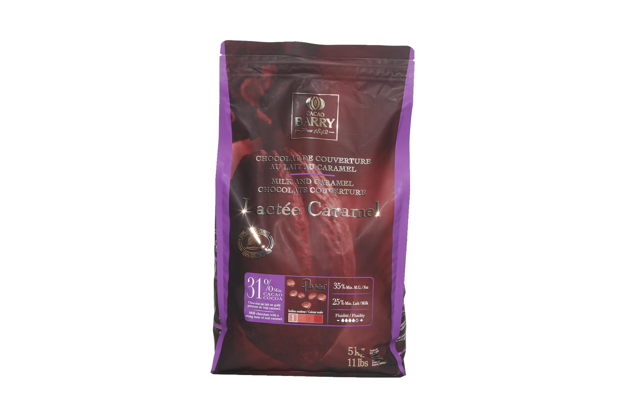 Chocolat Lactée Caramel - 5kg