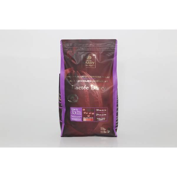 Chocolat Lactée Barry 35% - 5kg