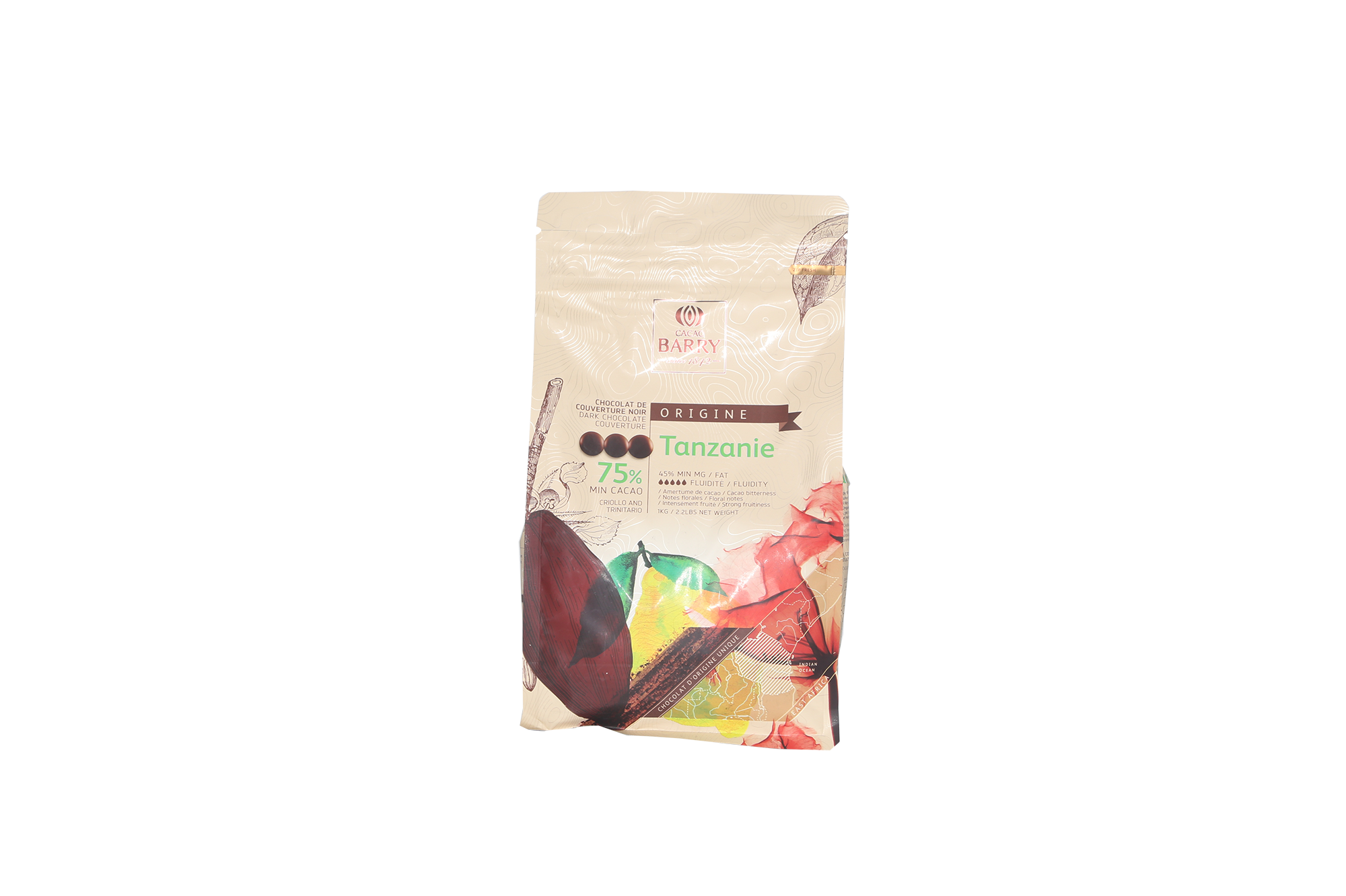Chocolat noir Tanzanie 75%