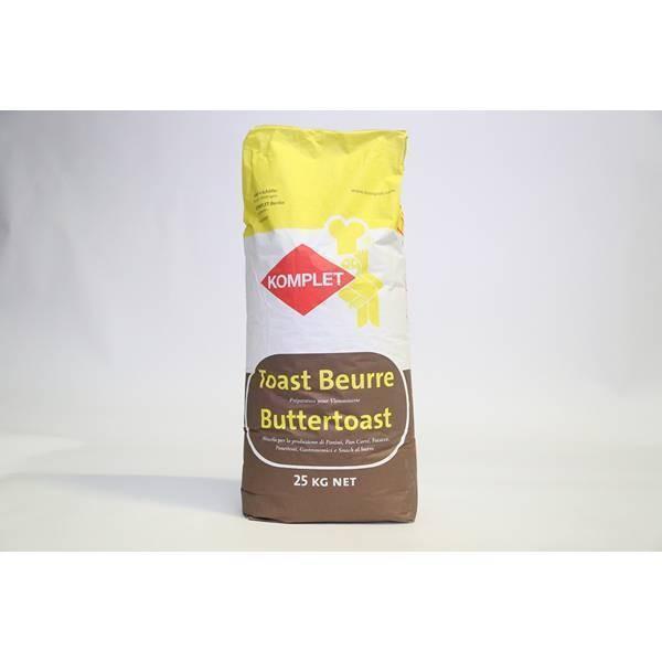 Toast beurre - 25kg