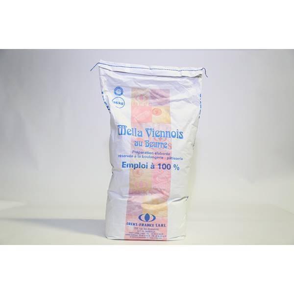 Mella Viennois au beurre - 25kg