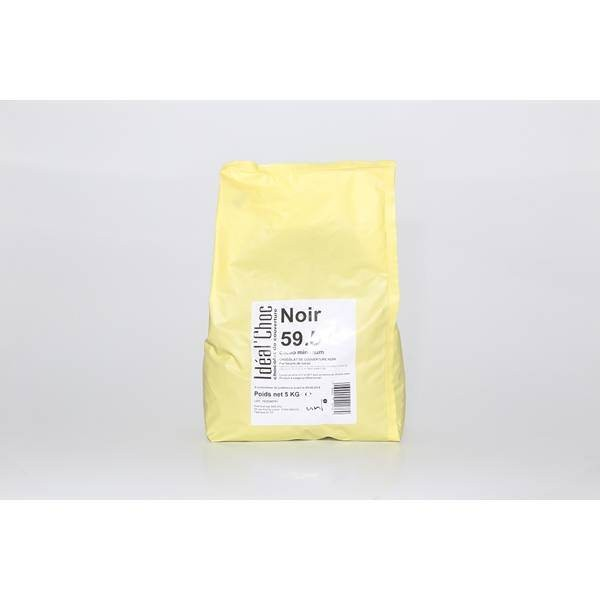 Chocolat noir 59,5% - 2x5kg