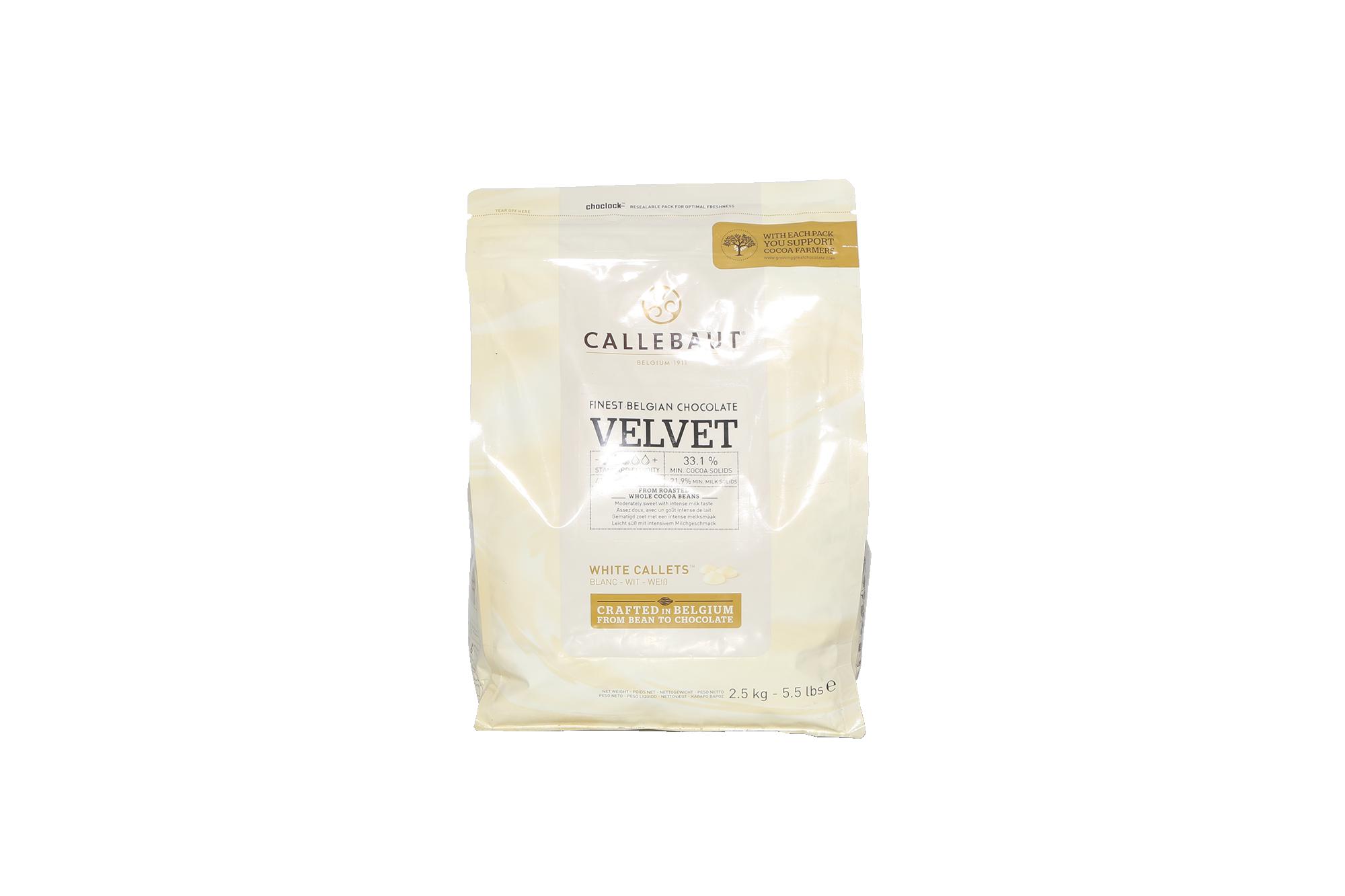 Chocolat blanc 33,1% - 2,5kg