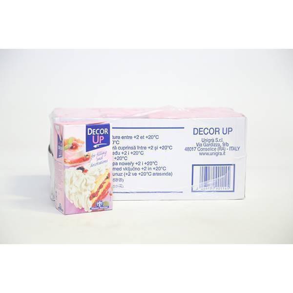 Crème végétale Décor Up - 1L