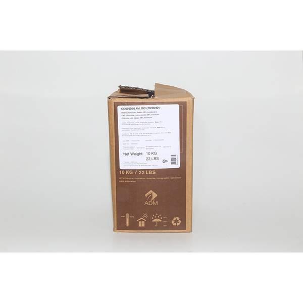 Chocolat noir 68% - 10kg