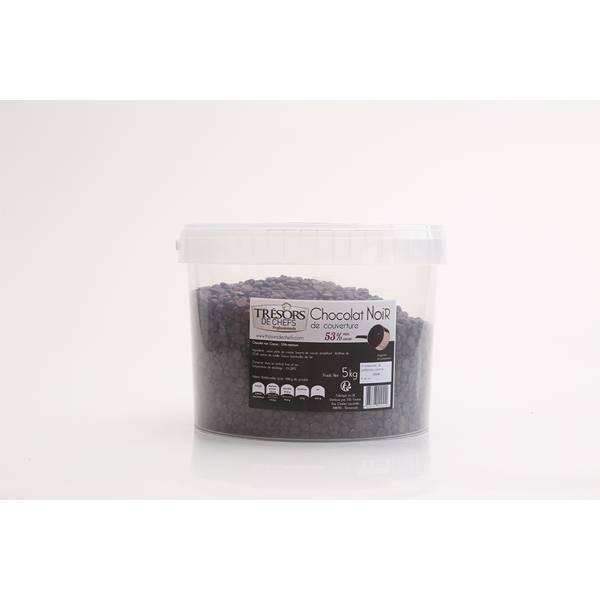Chocolat noir 53% - 5kg