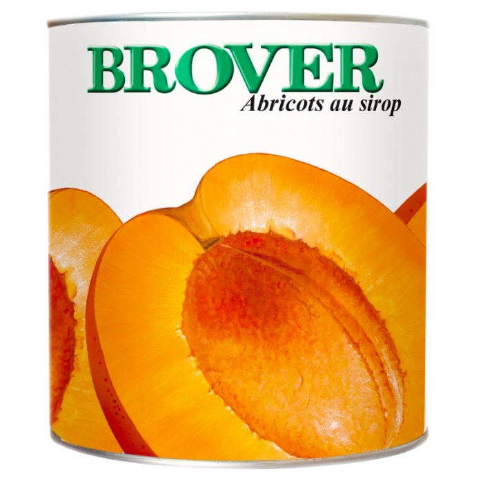 Abricots oreillons sirop