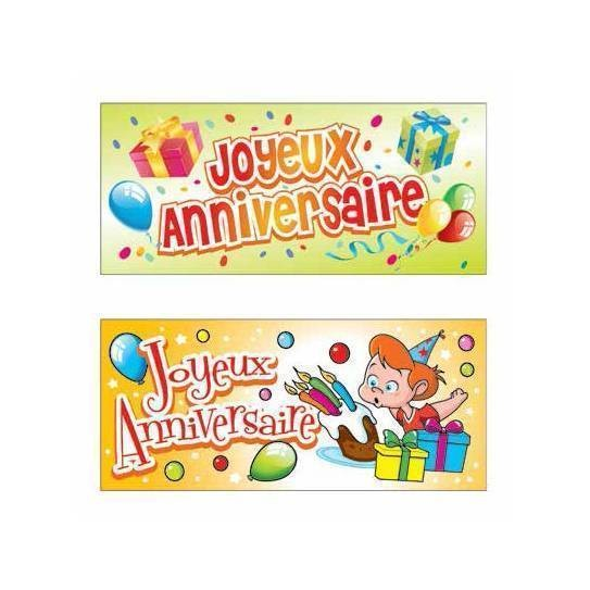 Rectangle anniversaire - x24