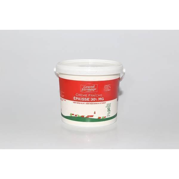 Crème fraîche épaisse 30% - 5kg