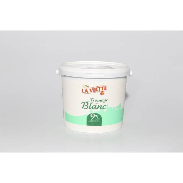 Fromage blanc 9% - 5kg