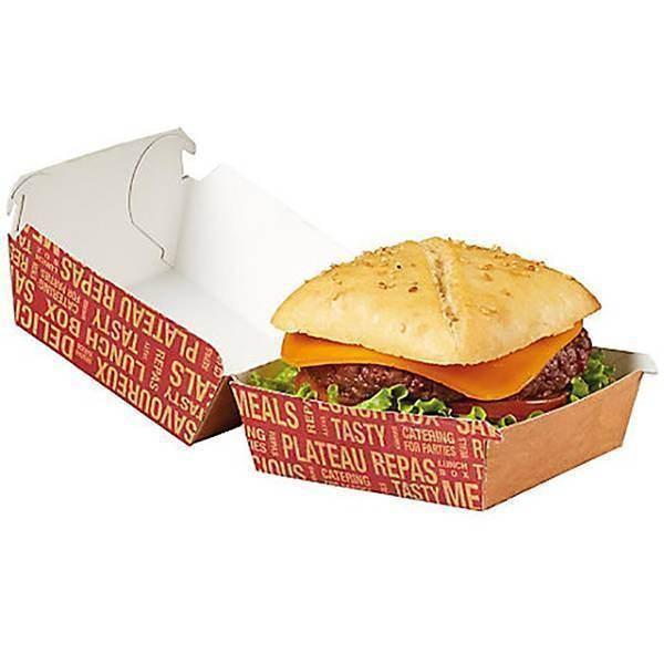 Boîte burger grand city - x50