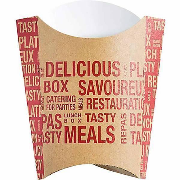 Boîte frite grand format - x200