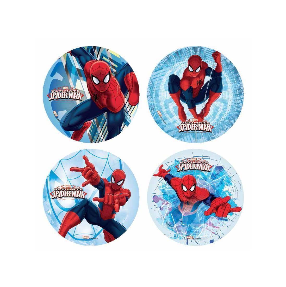 Disque azyme Spiderman