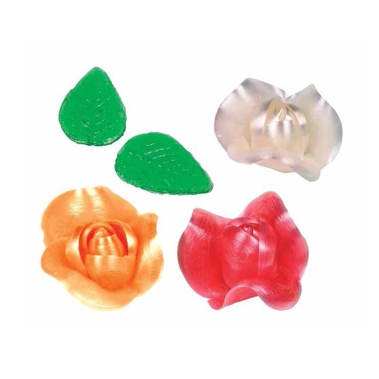 Roses confiseur - x6