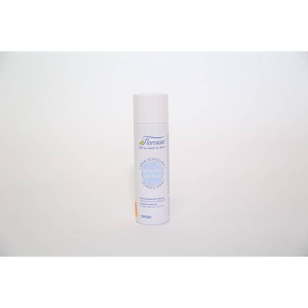 Spray colorant scintillant bleu